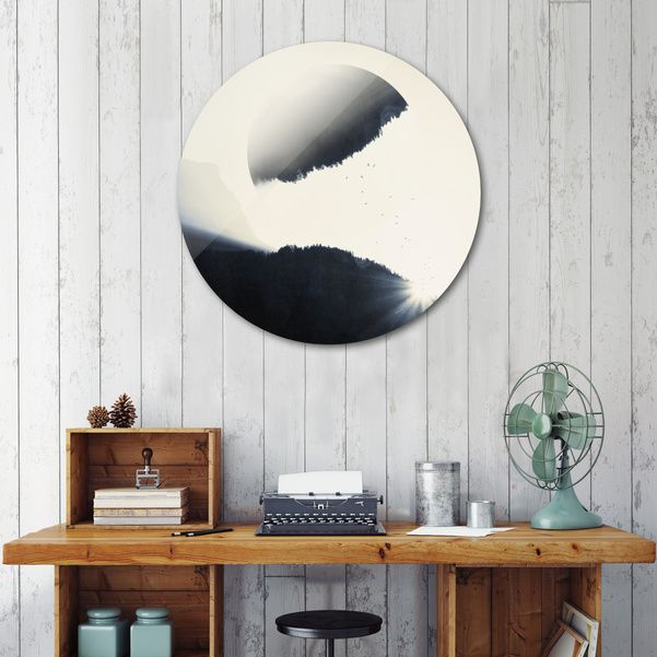 Discover «out of balance», Exclusive Edition Disk Print by Dirk Wüstenhagen - From 80€ - Curioos