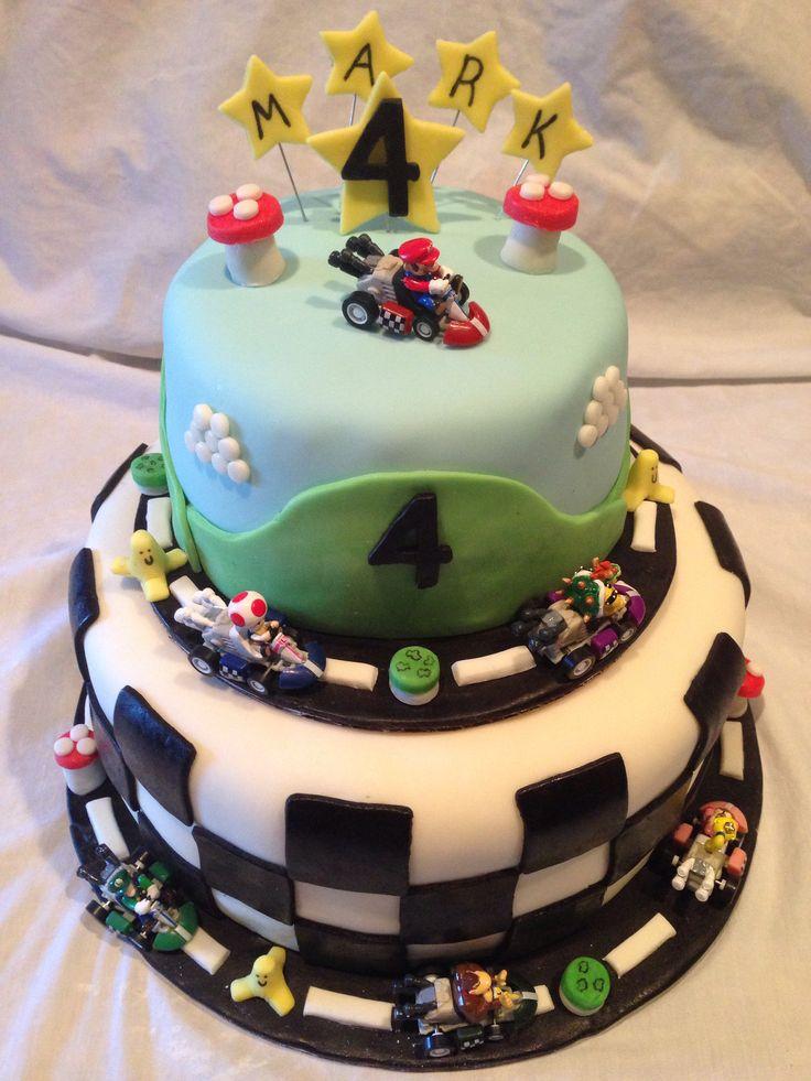 Mario Cake Designs