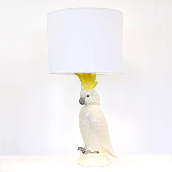 same lamp as mine.  put amanpuri fabric on shade to match cushions