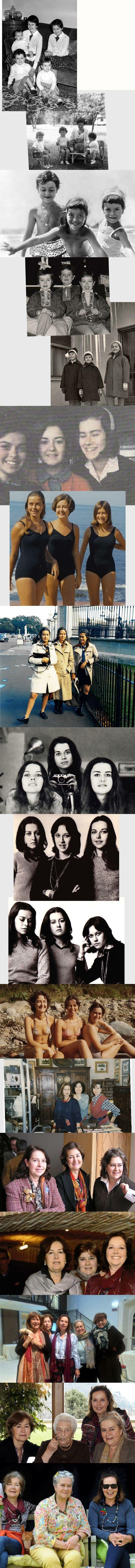 three sisters Ganzinelli 1954-2014 in eighteen shots #ganzinelling #guidofrilli