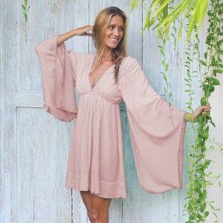 Hot Lava - Butterfly - dip dye pink