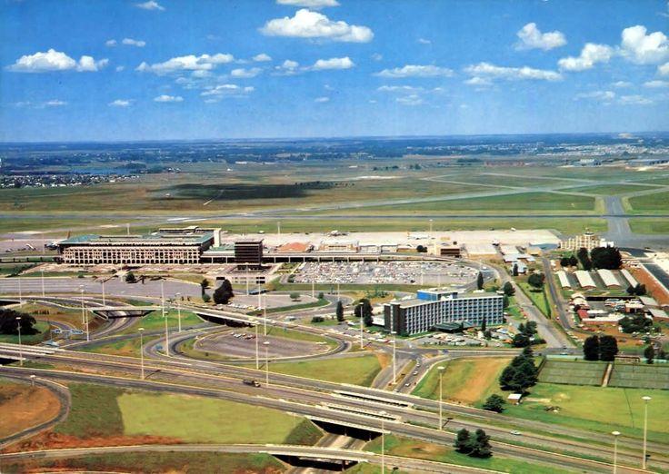 Jan Smuts airport 1971