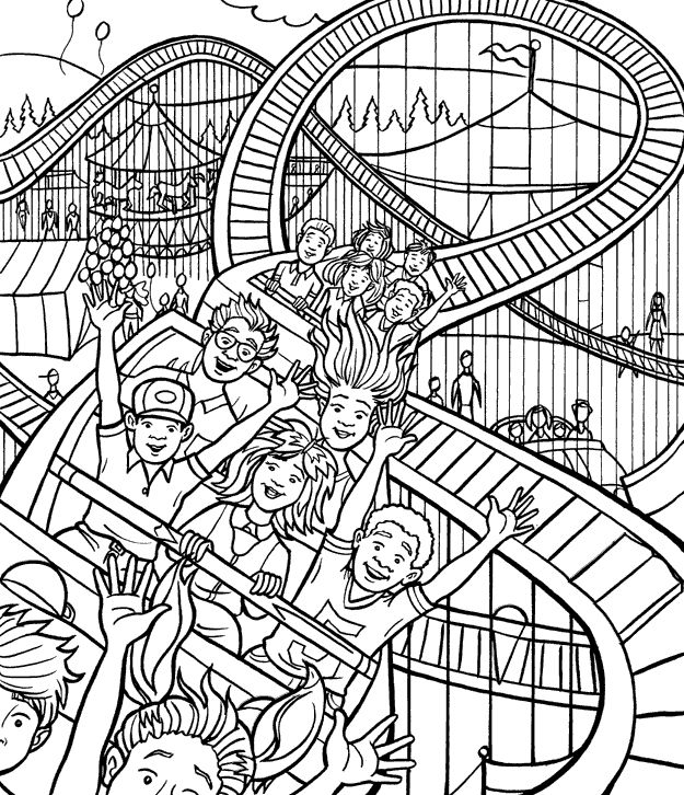 8 best Color Circus images on Pinterest Coloring books