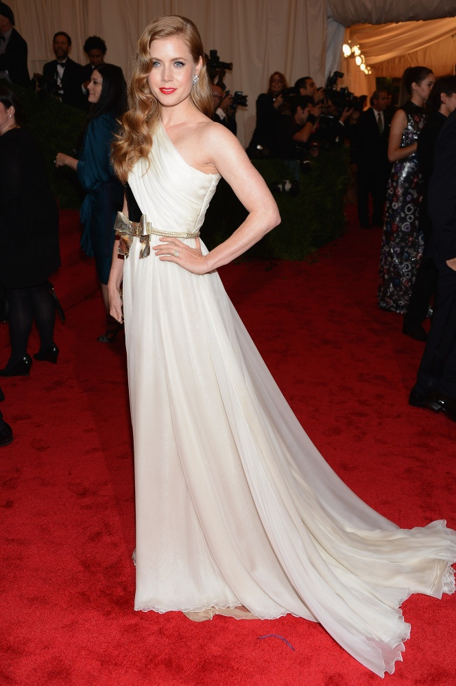 Amy Adams in Giambattista Valli #MetGala
