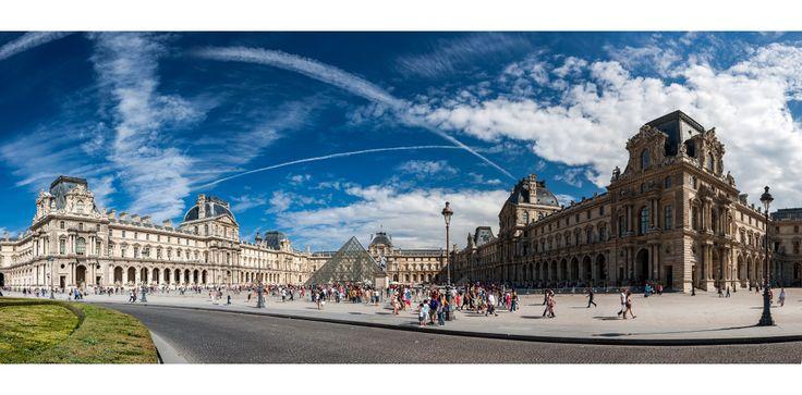 Photographie , Paris , Louvre