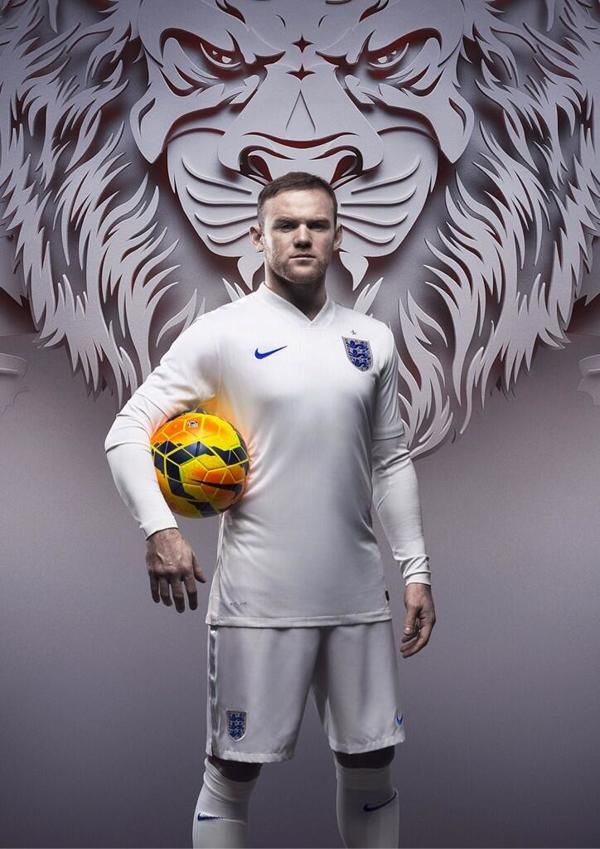 Nike Football: England Kit Launch on Behance #rooney #worldcup