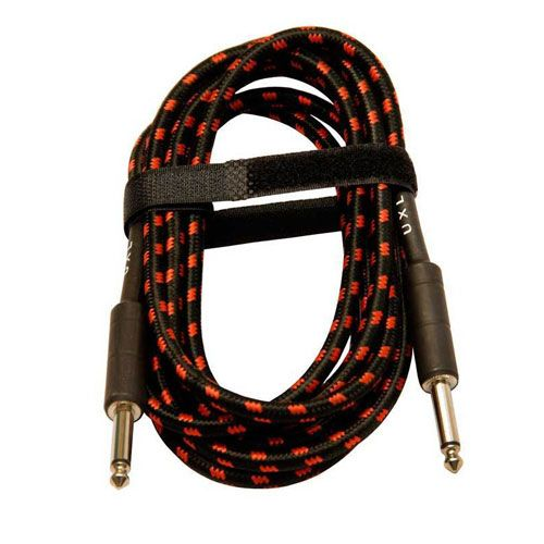 UXL Deluxe Cotton Covered Guitar Lead 7m - BC Wholesalers