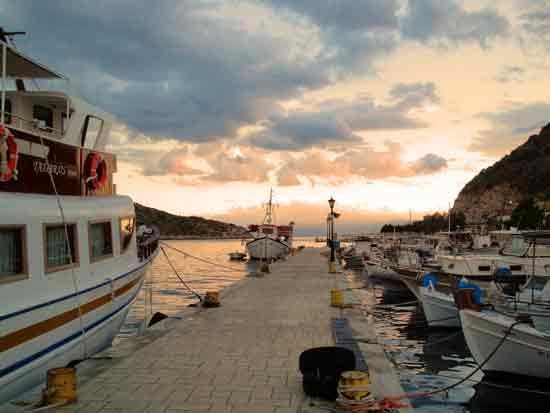 Fishing boats in the port of #Tolo, #Peloponnese, #Greece
