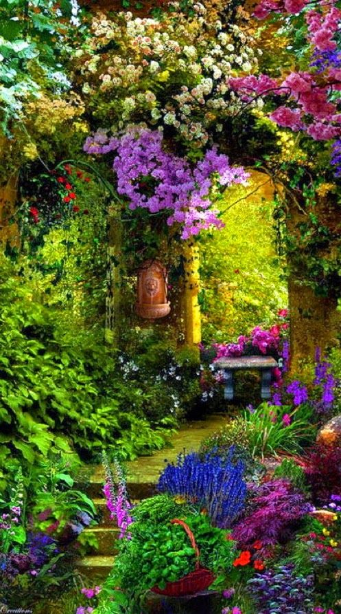 Garden Entry Provence France http://10travel10nature.blogspot.com/