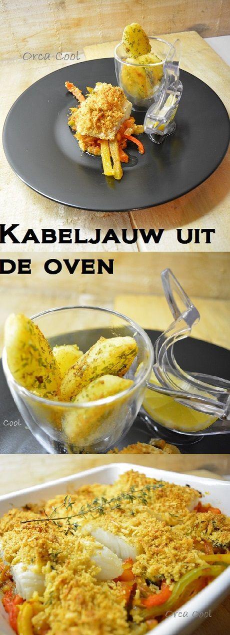 Kabeljauw uit de oven... #homemade #servies #citroenknijper