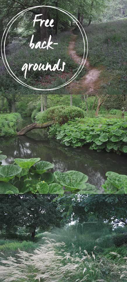 free backgrounds, nature and gardens