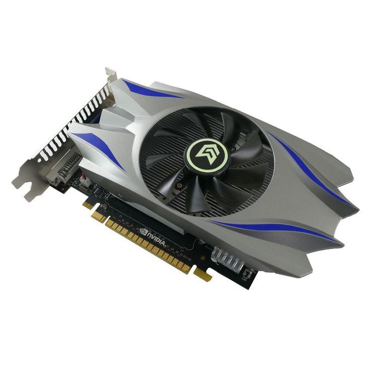 For PC PCI E 1GB DDR5 128Bit GTS450 Graphics Card fan Placa de Video carte graphique. Click visit to buy