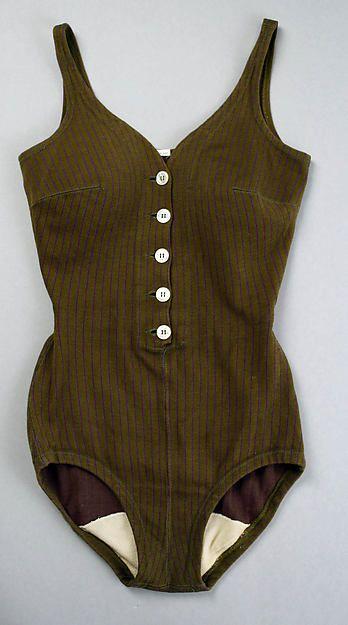 Rudi Gernreich  Maillot - American  ca.1955 Wool