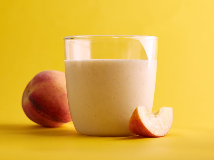 Peachy Oat Smoothie recipe from Food Network Kitchen via Food Network