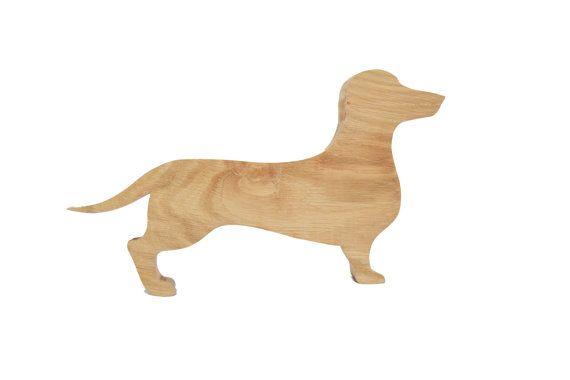 Dachshund Ornament - DAHKS-hound - Sausage Dog sculpture - Sizzles - Gift for sausage dog lover