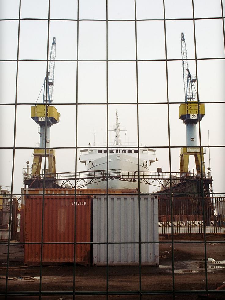 Port of Naples, shipyard