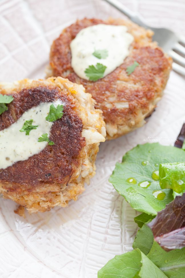 Paleo and Grain-Free Crab Cakes Recipe from Danielle Walker's Against all Grain