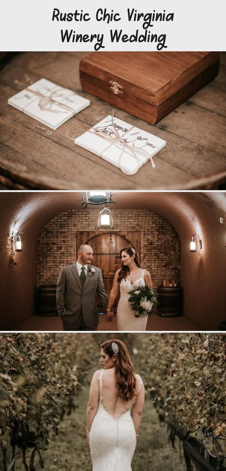Rustic Chic Virginia Winery | Northern virginia wedding ...