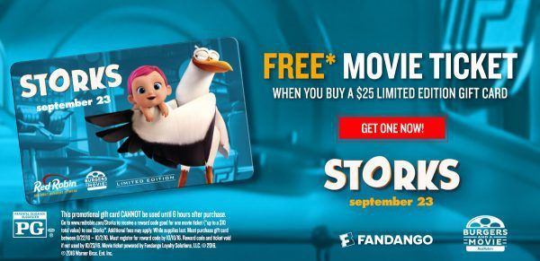 Red Robin Free Movie Ticket Deal - http://couponsdowork.com/freebies-giveaways/red-robin-movie-ticket-freebie-dealio/