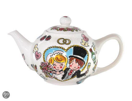 Blond Amsterdam Bride, voor een heerlijke kop thee op jullie trouwdag!