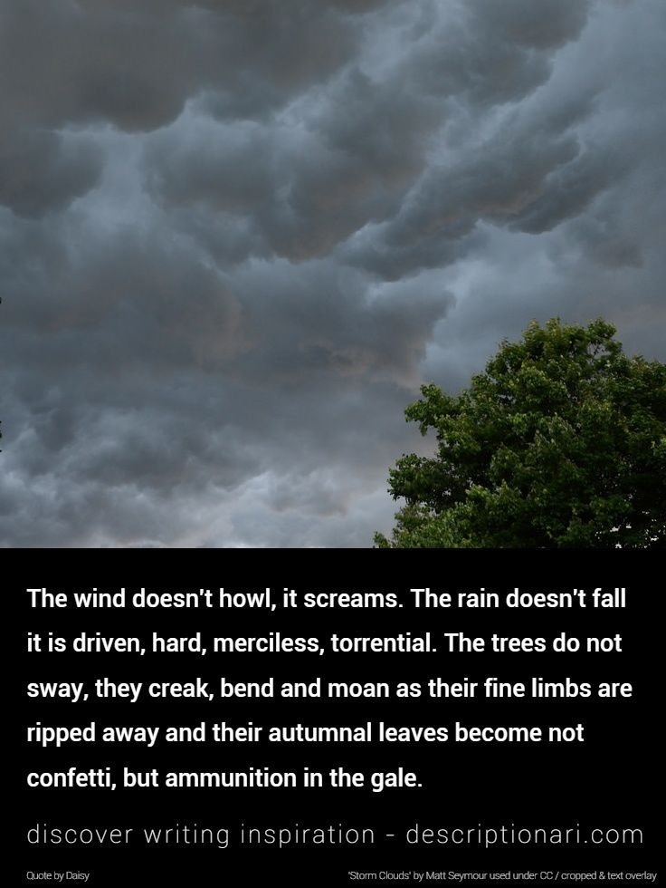 Storms Quotes And Descriptions To Inspire Creative Writing