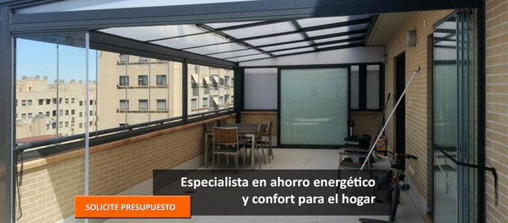 Cerramientos acristalados e integrales en Zaragoza