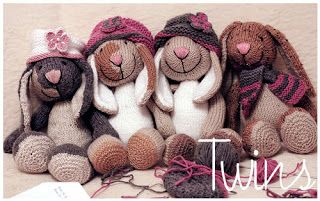 Knitted Toys: February 2013