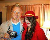 Tintin and Carmen Sandiego