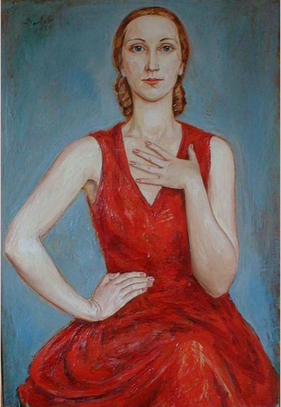 Russian Girl, 1930, Nils von Dardel