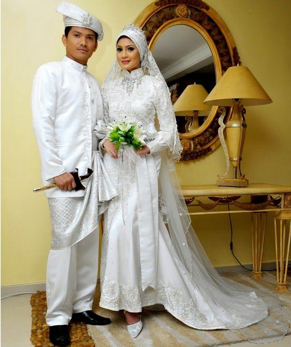 10 Trend Model Baju Muslim Pengantin Modern Terbaru