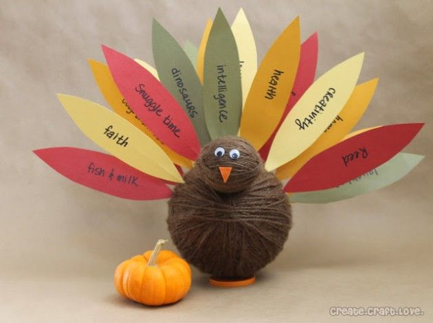 30 Fun DIY Thanksgiving Craft Ideas for Kids | Daily source for inspiration and fresh ideas on Architecture, Art and Design