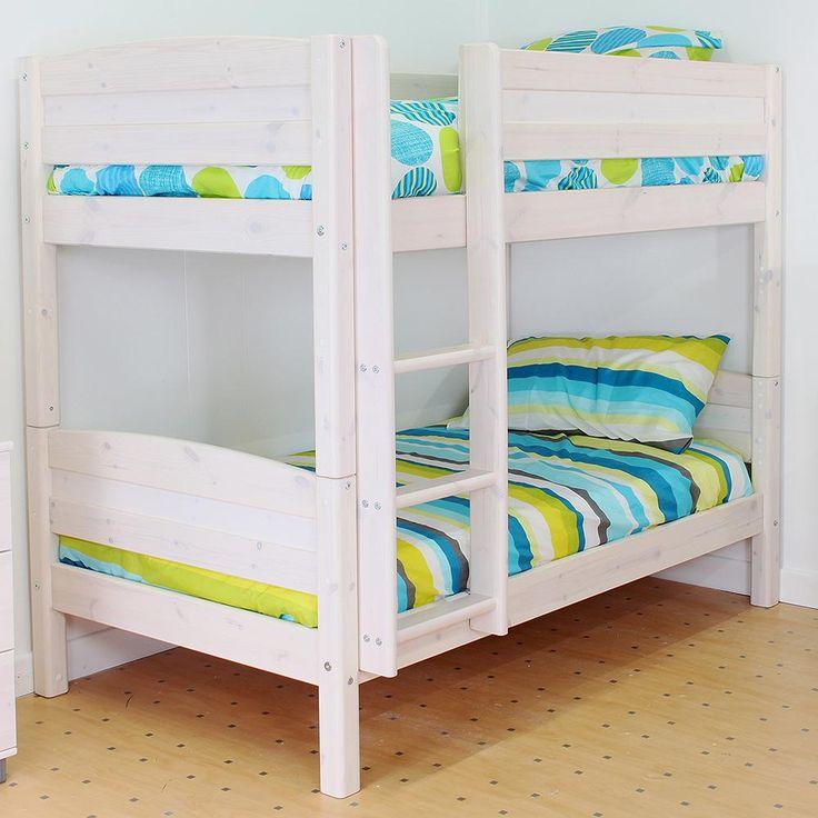Length: 172 cm Width: 106cm (straight ladder) 136cm (slanted ladder) Height: 151 cmThuka Trendy Shorty Bunk Bed