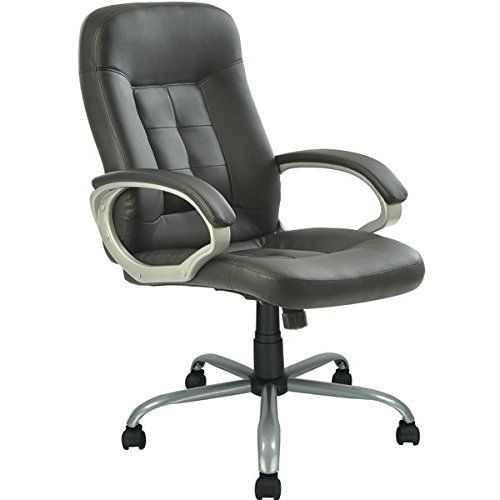 High Back Executive Leather Ergonomic Office Chair wHeavy Duty Metal Base    Click image to17 best VIVA Office Chairs on Amazon images on Pinterest   Bonded  . Ergonomic Desk Chairs Amazon. Home Design Ideas