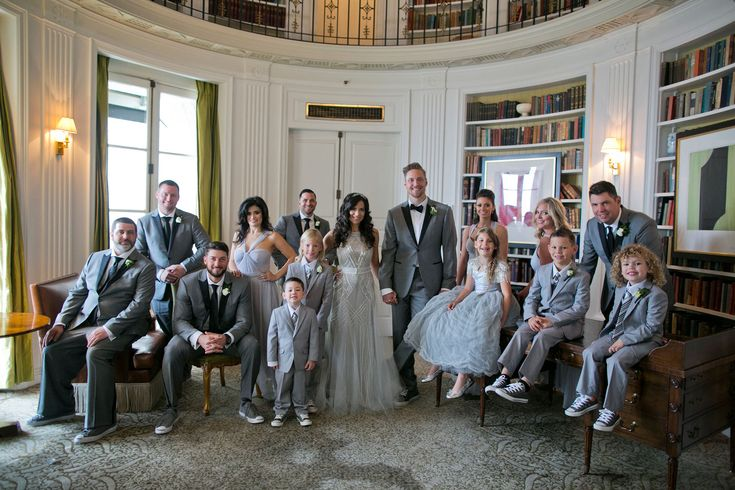 Hunter Pence with Wedding Party  Photography: Mel Barlow & Co. Read More: http://www.insideweddings.com/weddings/alexis-cozombolidis-and-hunter-pence/1047/