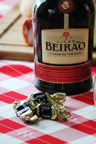 Chocolates com Licor Beirão
