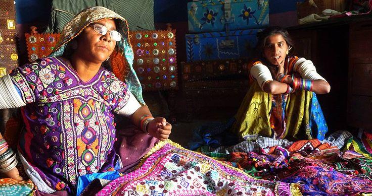 Kutch…Rabari Embroidery