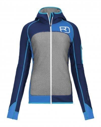 Sportsnett › Ortovox Fleece Plus Hoody Strong blue M