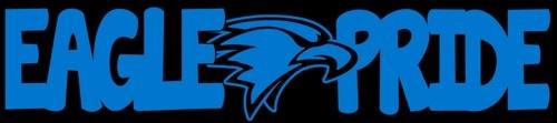 Eagle Pride Decal - Eagle Mascot College School High School Football Baseball Soccer   LilBitOLove - Housewares on ArtFi
