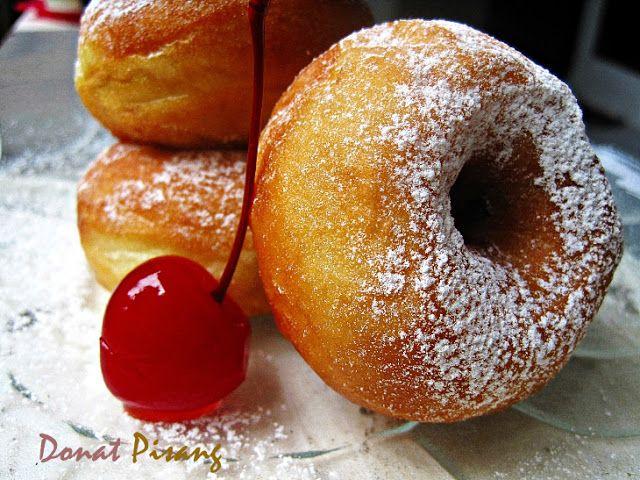 Dapur Vanilla: Donat Pisang