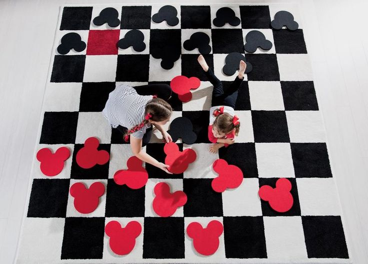 "Checkboard Square Rug Set  Detailshttp://www.ethanallen.com/en_US/disney-shop-rugs-rugs/checkboard-square-rug-set/041007SET.html Item #: 041007SET $699.00 Dimensions: 7'10"" x 7'10"""