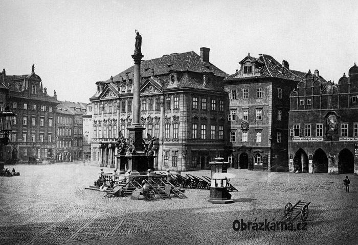 Praha, Staroměstské náměstí 1870