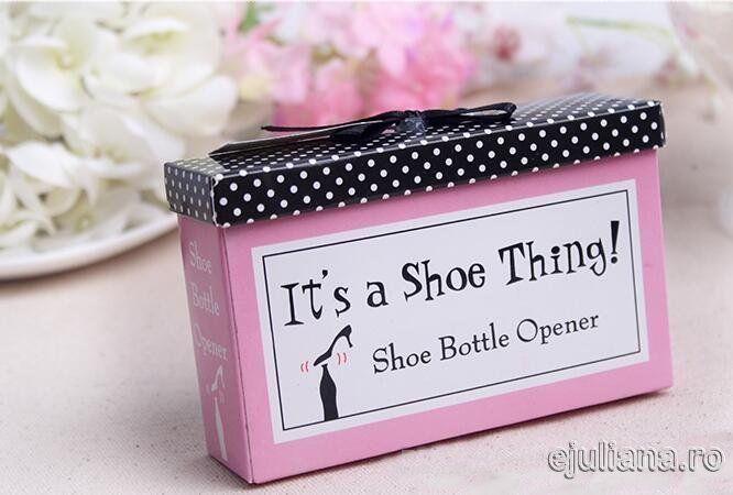 Marturii de nunta pantof