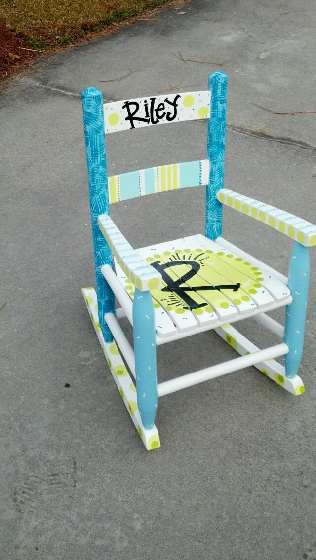 painted rocking chairs ideas | Rocking chair ideas | Juice | Pinterest