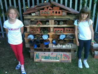 Going to build this in year 1s outdoor area