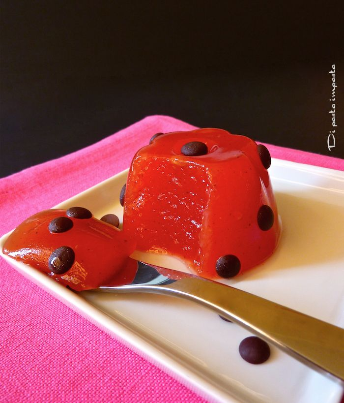 Di pasta impasta: Gelo di melone (gelatina di anguria) con agar agar