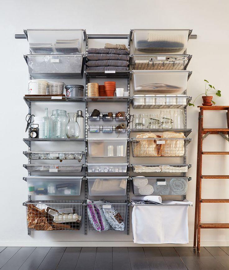 Organiser, stocker et adapter son rangement avec Elfa
