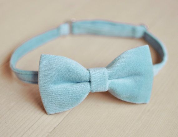 Hey, I found this really awesome Etsy listing at https://www.etsy.com/listing/466193688/tender-light-blue-velvet-bow-tie-pre