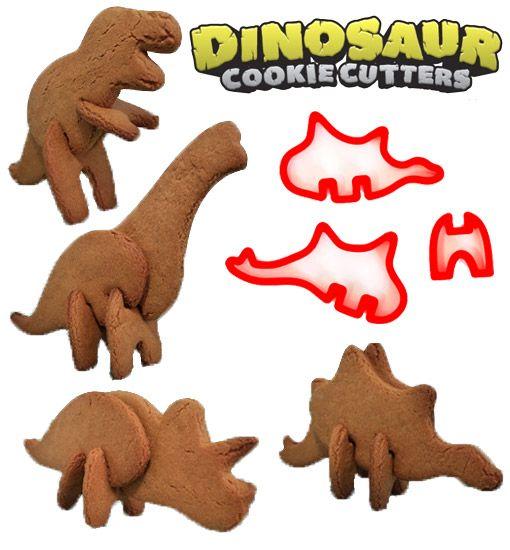 Cookies de Dinossauros 3D!