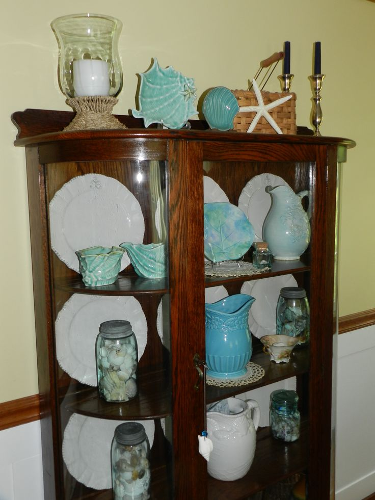 35 Best Images About China Cabinet Decor In And Above On