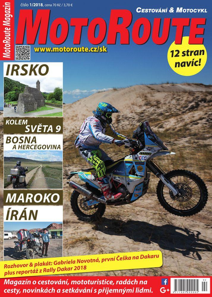 MotoRoute Magazin Nr. 1/2018; Read online: https://www.alza.cz/media/motoroute-magazin-1-2018-d5259892.htm